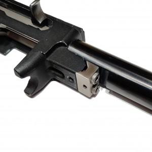 Adjustable V-Block installed on a Ruger 10/22.